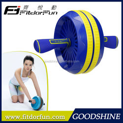 Feva Roller-Factory Price Stylish Colorful Adjustable Double Multi Gym Equipment Ab wheel as seen on TV Maker
