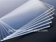 Clear Cast Acrylic Sheet for Advertising with PE film or Kraft Paper Packaged