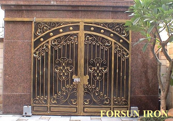Price Single Leaf Iron Gate with Good Quality, FORSUN Product Details