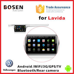 2015 New arrival deckless car radio audio player with android sytem 4.2.2 for Volkswagen Lavida