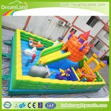 big inflatable animal playground giant air jungle maze inflatable obstacle course inflatable maze