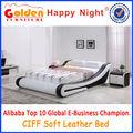 G996# estilo europeo la última caja de madera de diseño de la cama