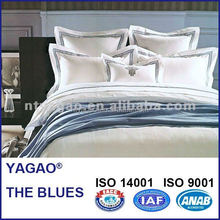 China top 5 luxury 5 star hotel household home bedding set hotel linen manufacturer