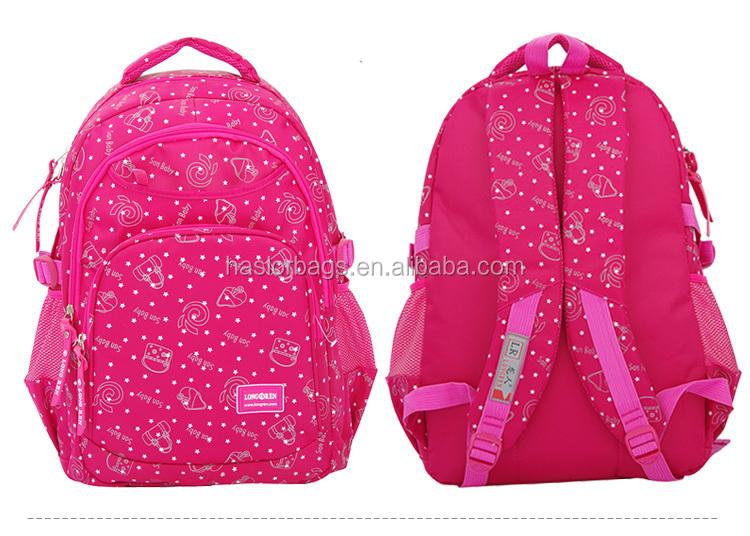 Haute capacité et durable sac d'école des enfants avec des prix d'usine