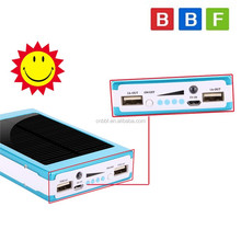 2 in 1 Portable Solar Move Power Bank Mobile Battery Charger for iPhone LG
