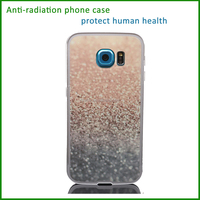 high technology anti-radiation the dark silicone bumper pet cell phone case