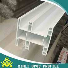 various and colorful PVC profiles making for windows and doors