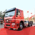 340hp howo pesado camión tractor, carro del camión tractor de la mano derecha de conducción, 340hp remolque howo cabeza zz4257n3247c1 dimensión