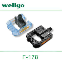 """Wellgo F178 Plastic Bicycle Pedal for 12-20"""" Folding bike use pedal"""