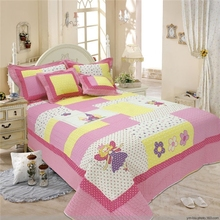 Print kids bed sheet, cheap sale baby bedding set,anime duvet covers