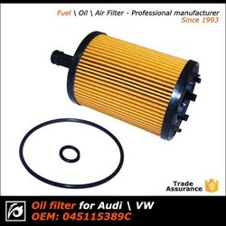 High flowing Oil Filters for passenger Cars, Trucks OEM 05015171AA