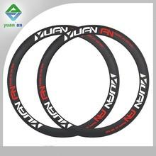 700C road racing bike rim 50mm rims for sale custom label/sticker original design high stiffness fixed gear bike