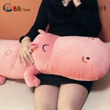 Cheap wholesale hippopotamus plush toy, custom soft stuffed animal