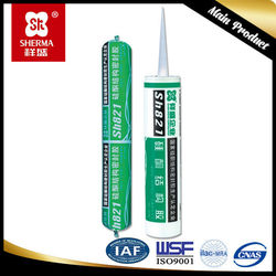 Best quality neutral curing silicone sealant price with single component