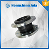 vibration isolator Galvanized flange flexible compensator rubber flange