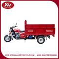 China triciclo fabricante proporcionar alta calidad refrigerado por agua del motor y medio cerrado triciclo / se puede camión de basura