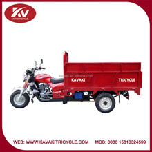China tricycle manufacturer provide high quality water-cooled engine and half closed carriage tricycle/can be garbage truck