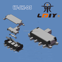 1P2T Micro Slide switch SMT 8 pins sliding switch LY-SK-03