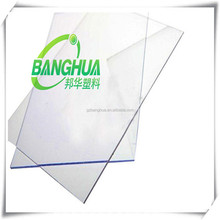 clear and any coloring solid polycarbonate polyglass sheet