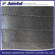 Factory made new style synthet pu nubuck leather