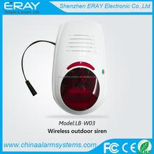 2014 best quality!!! wireless outdoor siren alarm padlock with flash alarm