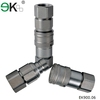 EK-FF hose quick coupling , carbon steel,brass industrial oil hydraulic quick connectors