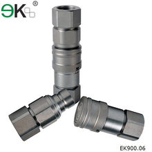 EK-FF hose quick coupling , carbon steel,brass industrial oil hydraulic quick connectors