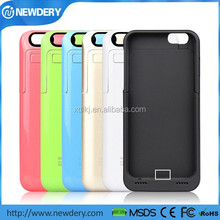 Manufacturer wholesale price for iphone 6 charger case external battery case