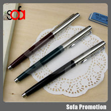 2015 fashion style fountain pen iridium point germany for student