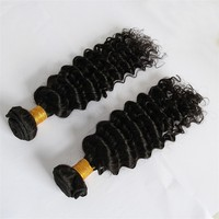 Good Hair Virgin Brazilian Hair, Grade 7A Wet And Wavy Virgin Brazilian Hair