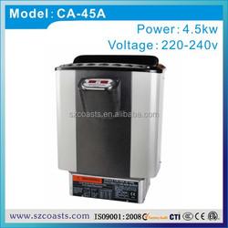 New design Coasts 4.5kw sauna heater/sauna room machine with CE ETL approval