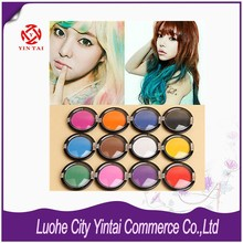 2015 New Non-toxic Temporary Hair Chalk Dye Hair Care Color Powder