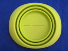 Collapsible Silicone Plate Silicon bowl in different color