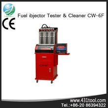 Durable CW-6F auto cylinders Ultrasonic fuel injection Cleaner and tester machine system