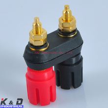 Audio HIFI Amplifier Terminal Banana Plug Jack Combine Binding Post