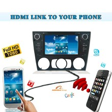 Android HDMI Wireless phone link mirabox radio Car Dvd Players Gps Navigation Ipod Stereo Radio uUsb BT for BMW E90