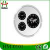 aluminium Wall Clock With World Clock made in china