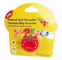 smart insect watch/ mosquito repellent bracelet with citronella