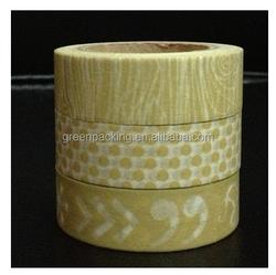 Greenpacking Decorative japanese painting tape custom japanese Washi tape