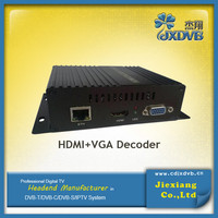 Professinal Decoder For Cable TV HD Audio And Video Decoder With rtmp/rtsp/rtp/udp/http/Onvif protocols