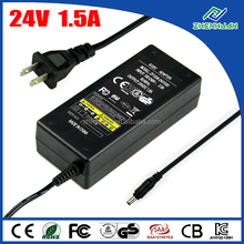 LED Adapter 24V 1.5A Server Power Supply For Desktop