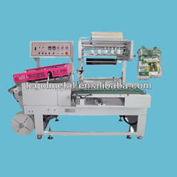 produced by taiwan good quality labor saving L bar sealer cups packing machinery