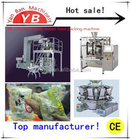 YB-420Z VFFS automatic ten heads weighter frozen food packaging machine 50-1000g