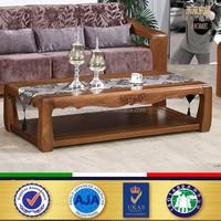 wooden carving furniture tea table / teak wood coffee table