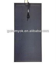 100W/17V flexible monocrystalline solar panel very slim solar panel for outdoor Diy,Car,Boat,charger