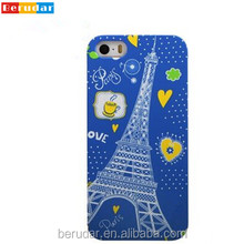 Hot popular wholesale mobile phone cover for custom printed iphone 5s case