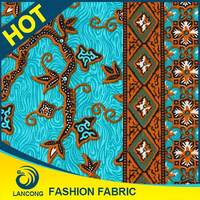 Famous Brand Small MOQ Attractive Design for African wax dress ankara fabric
