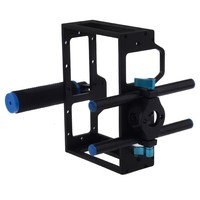 YELANGU DSLR Rig Mount Support 5D2 Camera Cage Kit with Top Handle