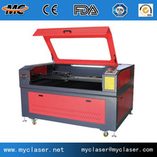 Acrylic wood mdf carboard plastic rubber PVC foam spong fabric leather CO2 Laser cutting machine price
