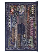 Tapiz hecho a mano, mirada de la vendimia patchwork tapiz, tapices de la india